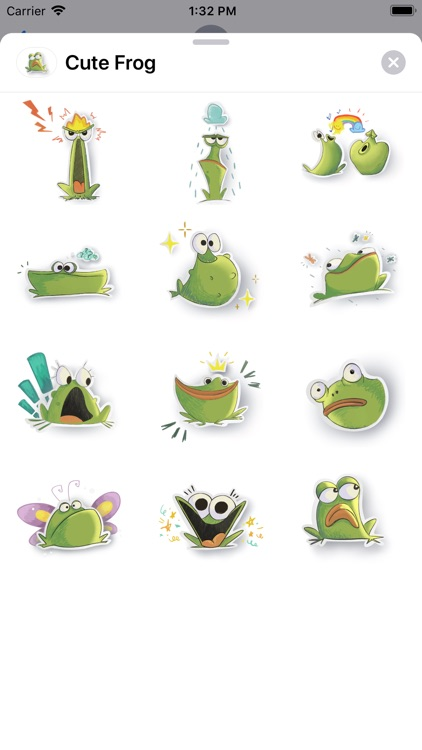 Cute Frog Sticker Pack