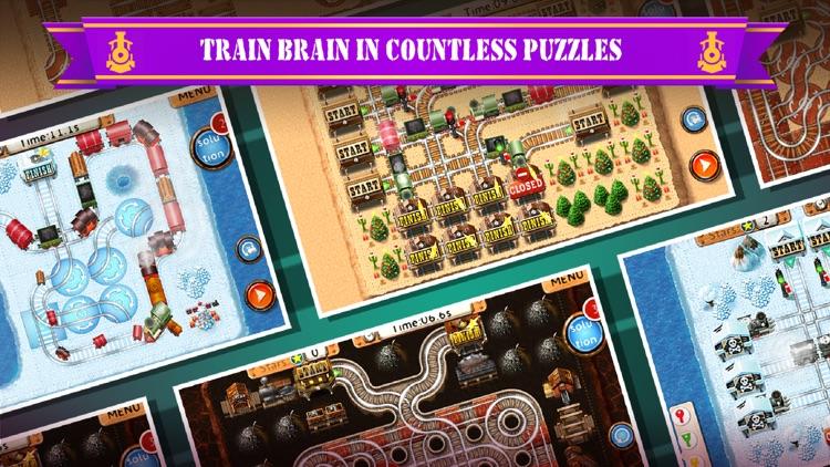 Rail Maze 2 : Train Puzzler screenshot-0