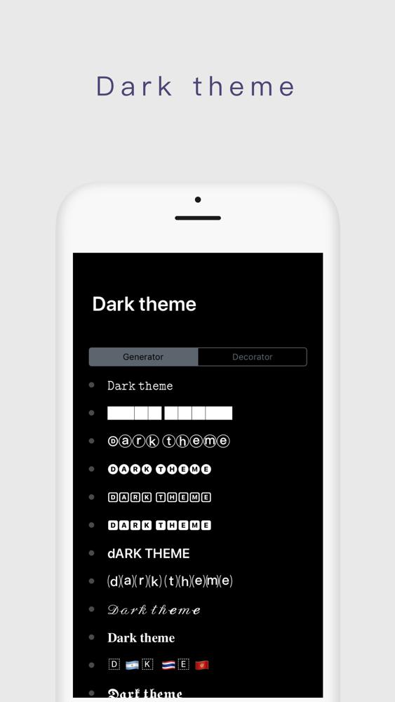 Keyboard Fonts App