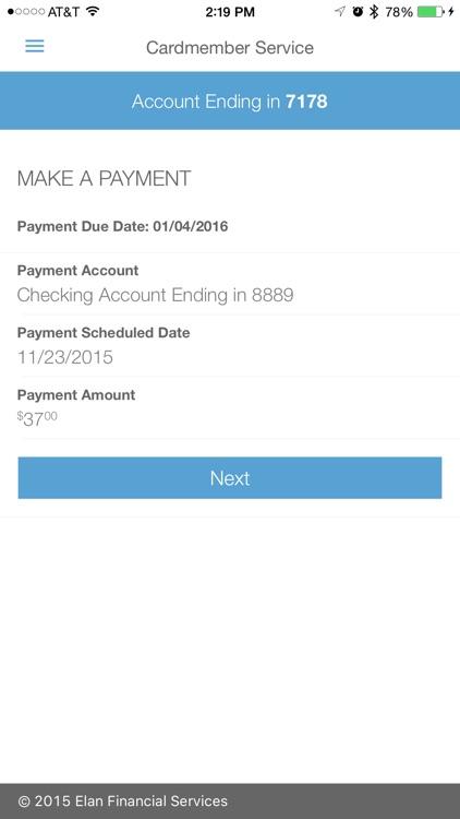 Elan Credit Card screenshot-3