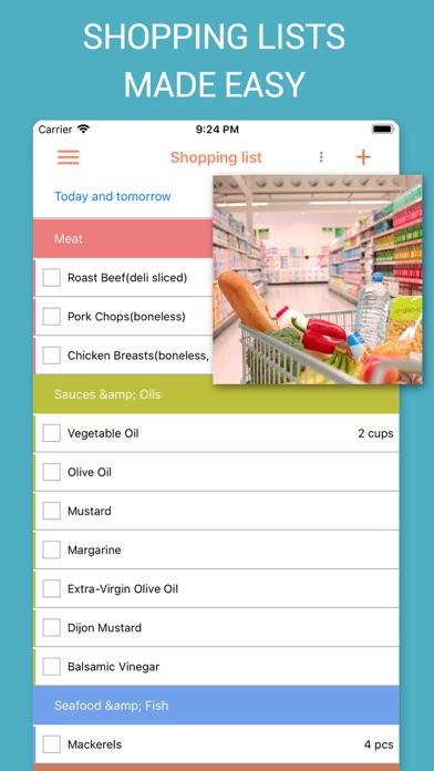 Recipe Calendar - Meal Planner Screenshot