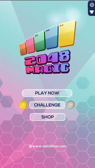 Magic 2048 Cards