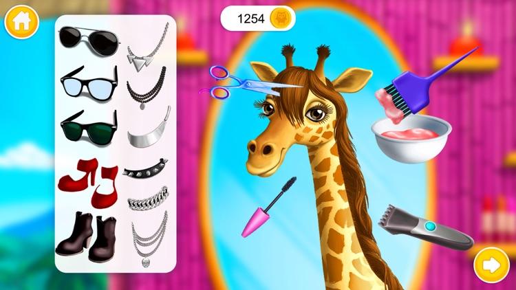 Jungle Animal Hair Salon! screenshot-5