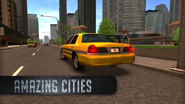 Taxi Sim 2016 screenshot-2