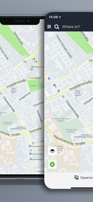 ?HERE WeGo – Stadt-Navigation Screenshot