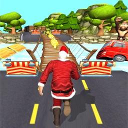 Subway Santa Claus Christmas