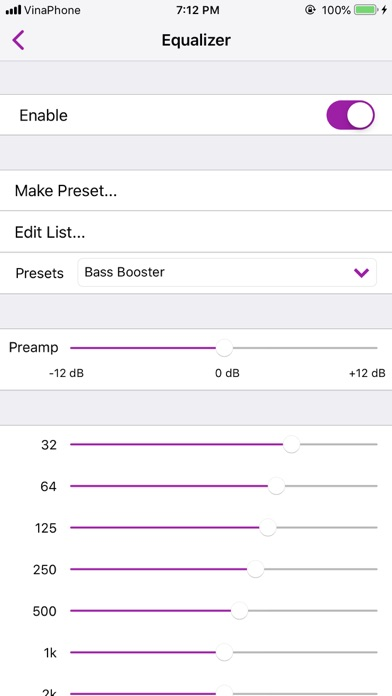 FLAC Player+ screenshot