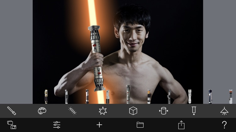 Lightsaber Camera Deluxe