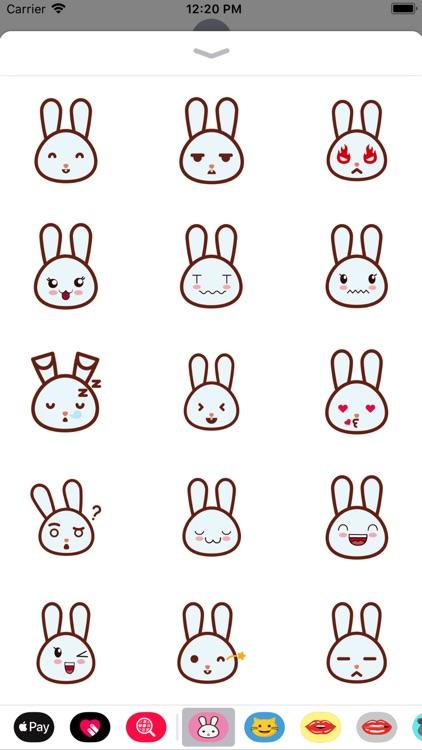 rabbitmoji 01 sticker