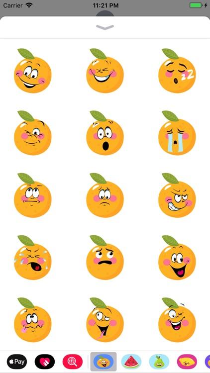 Orange stickers app 2020
