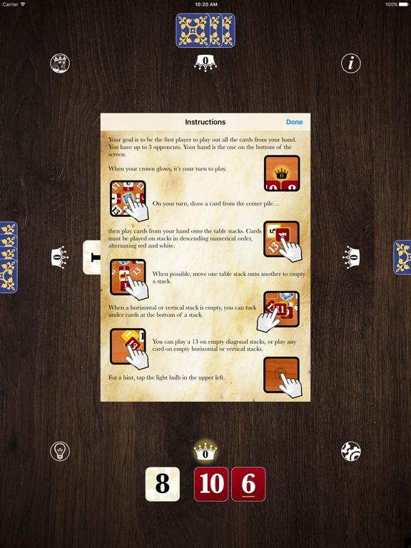 Kings in the Corners Gold screenshot