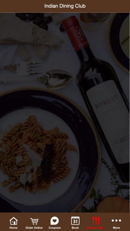 Indian Dining Club App screenshot-4