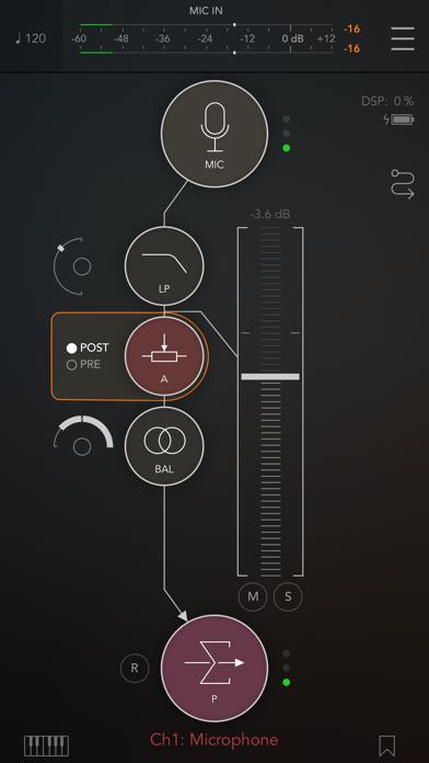 Скриншот №2 к AUM - Audio Mixer