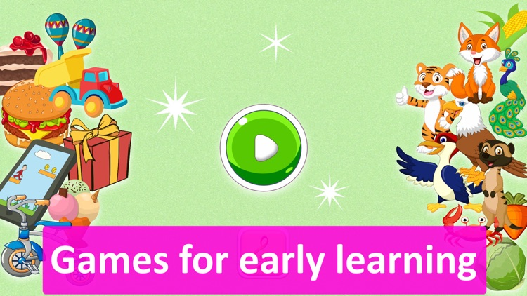 Baby Games for 3,4,5 year old