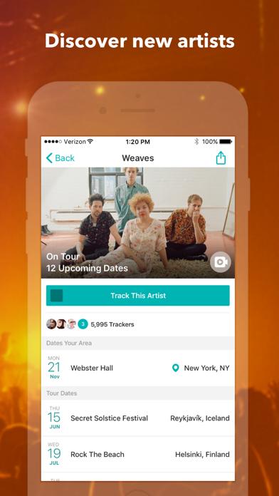 download Bandsintown Concerts apps 4