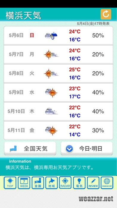 横浜天気のおすすめ画像2
