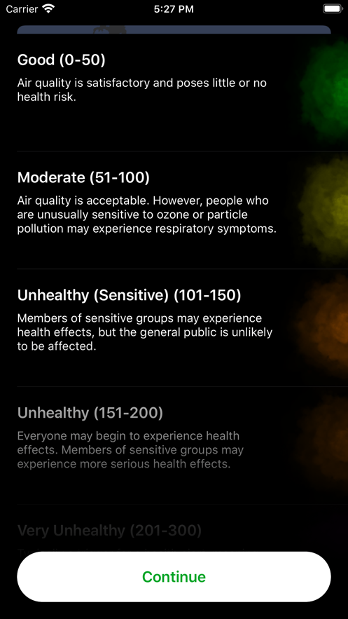 CleanSky App 截图
