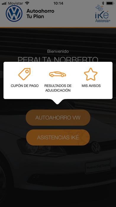 Autoahorro Volkswagen Screenshot on iOS