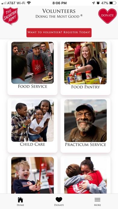 The Salvation Army - DFW screenshot 1