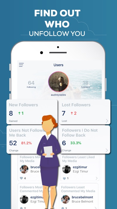 download Followers Track, for Instagram indir ücretsiz - windows 8 , 7 veya 10 and Mac Download now