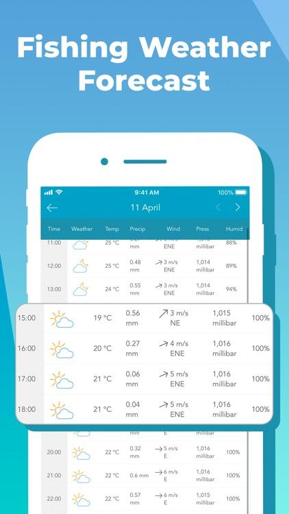 Fishing Forecast App: Fishbox screenshot-3