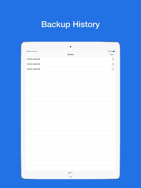 Backup My Contacts Easy Screenshots