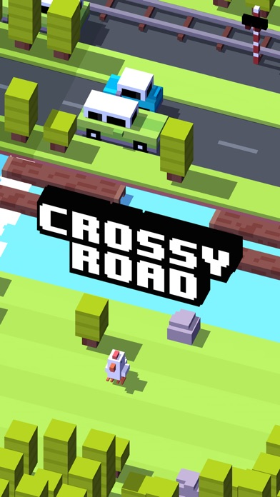 Screenshot for Crossy Road in Portugal App Store