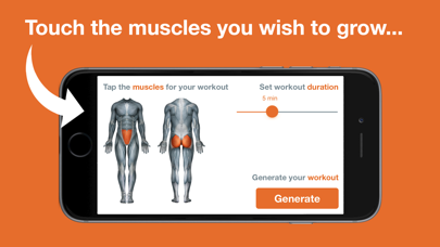Touch Me - Custom Workouts screenshot 1