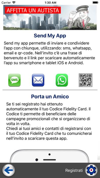 Screenshot of Affitta un Autista2