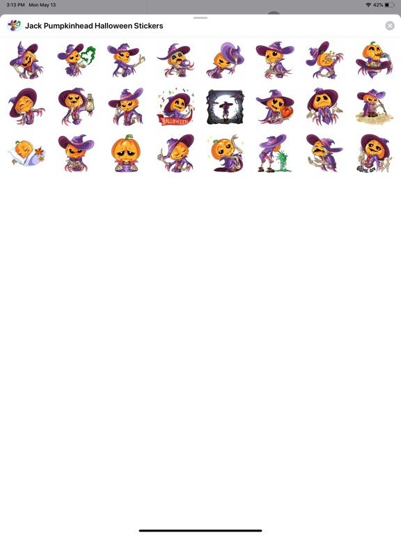 Jack Pumpkinhead Stickers screenshot 4