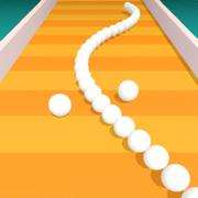Ball Road: Fun Snake Rise Run