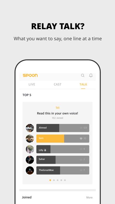 Spoon Radio - Live Stream Screenshot