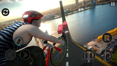 Impossible BMX Stunts Rider screenshot one
