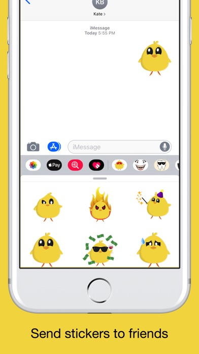 Chicky chick - chicken emoji screenshot 4