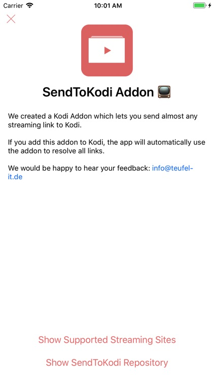 SendToKodi screenshot-4
