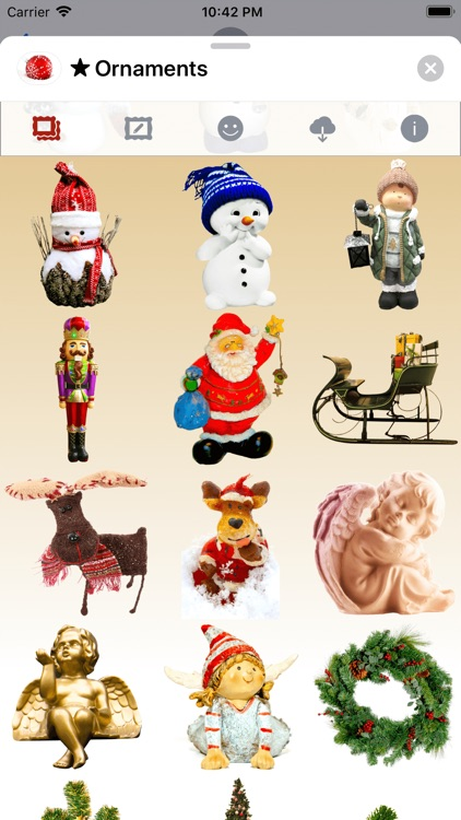 Christmas Ornaments • Stickers screenshot-3