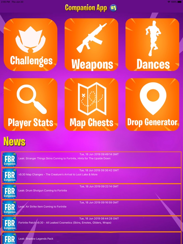 Companion for Fortnite BR on the App Store