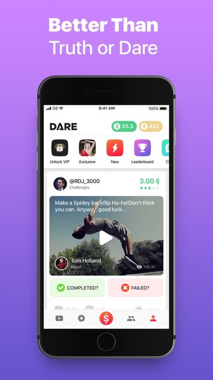 Dare App: Money for Challenges screenshot-4