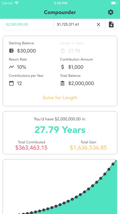 Compound Interest - Compounder screenshot-4