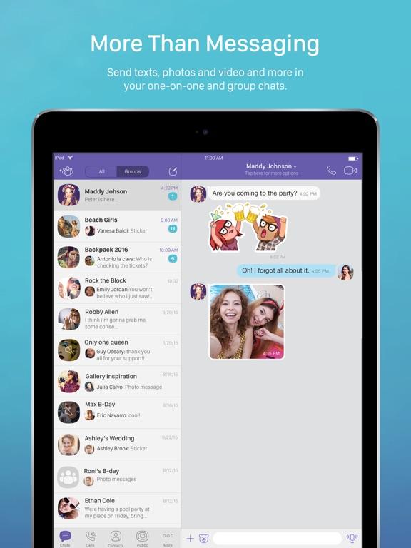 Viber Messenger: Chats & Calls Screenshots