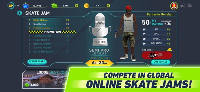 Tony Hawk's Skate Jam on the App Store