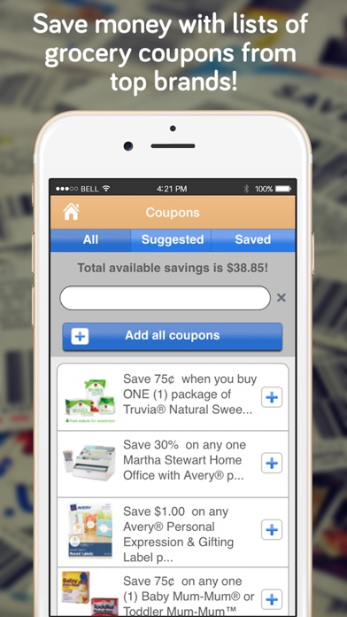 Shopper Lite Shopping List review screenshots