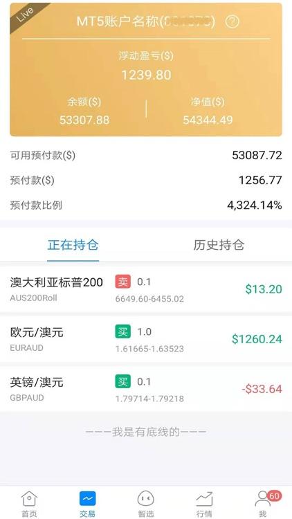 波浪智投-外汇理财投资好帮手 screenshot-5