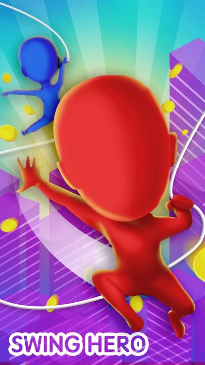 Swing Hero - Leap And Glide 3D screenshot-0