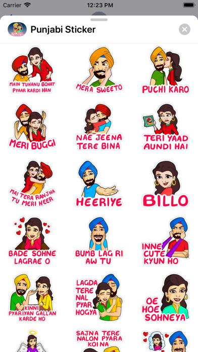 Punjabi Sticker Screenshot