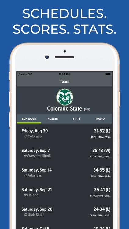 Colorado State Football App
