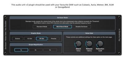 De-Esser AUv3 Audio Plugin screenshot 4