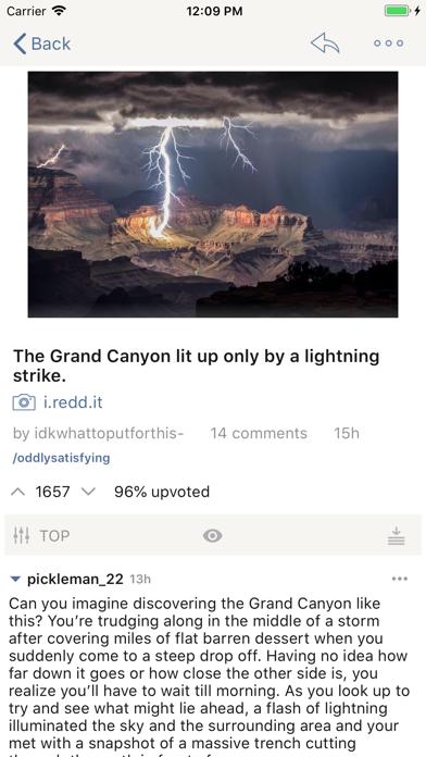 BaconReader for Reddit Screenshot on iOS