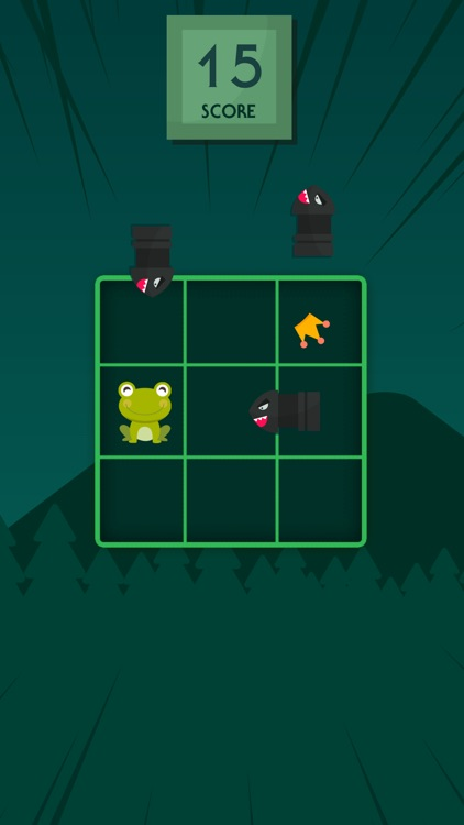 Froggy dodge: avoid the bombs! screenshot-1