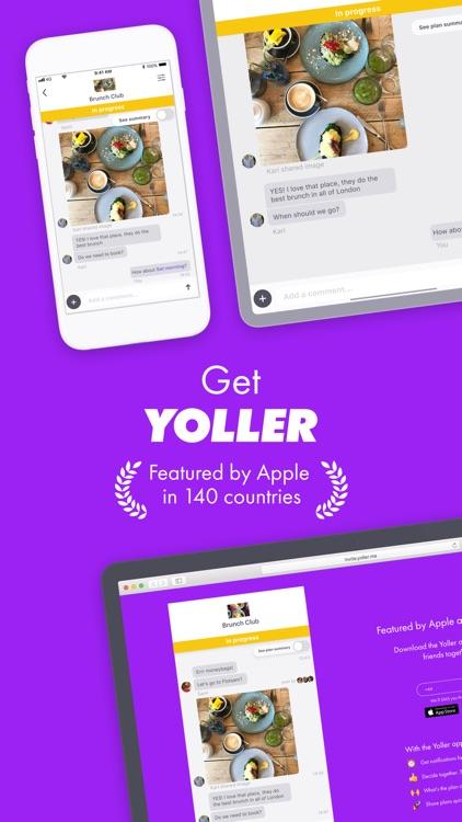 Yoller - Plan with friends screenshot-6